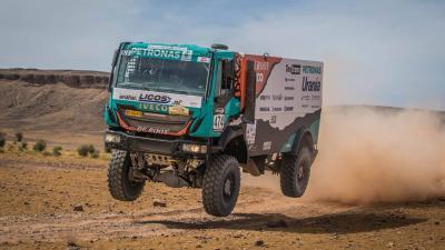 Dakar testcircuit voor reductie