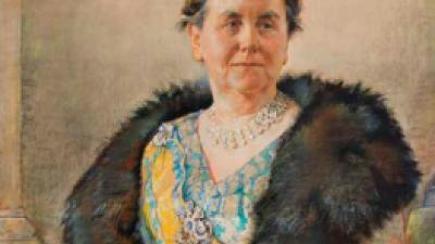 Uniek portret Wilhelmina  teruggevonden