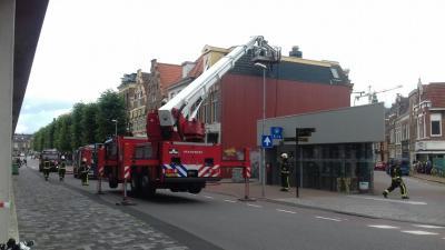 Felle dakbrand snel onder controle