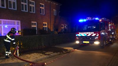 Foto van brand in kantoorpand | Persburo Sander van Gils | www.persburausandervangils.nl