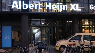 Ram- en plofkraak in Amsterdam