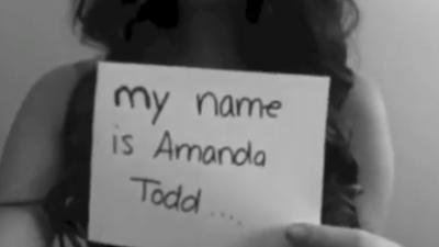 Still Youtube video Amanda Todd