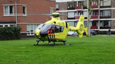 Traumahelikopter ingezet in Vlaardingen