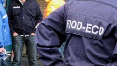 Foto van jas medewerker FIOD