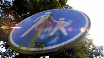 Foto van verkeersbord | Archief FBF.nl