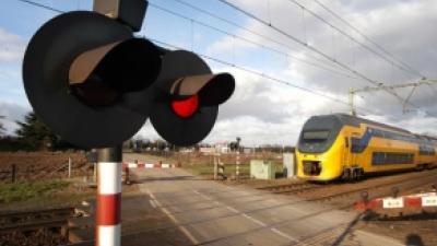 Foto van spoorwegovergang | Archief FBF.nl