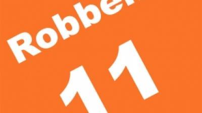 Foto van rugnummer Robben   Archief FBF.nl