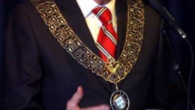 Foto van burgemeestersketting | Archief FBF.nl
