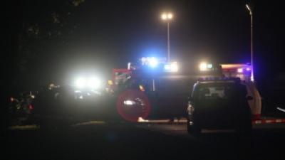 Foto van brandweerauto in de nacht | Archief FBF.nl
