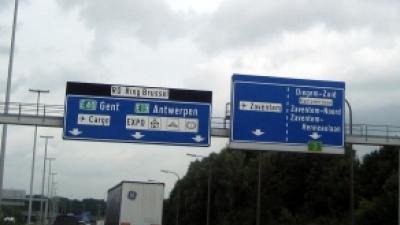 Foto van snelweg Belgiê | Archief FBF.nl