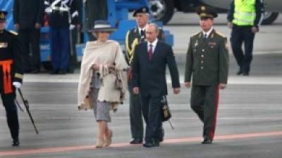 Foto van bezoek Poetin aan Nederland | Archief FBF.nl
