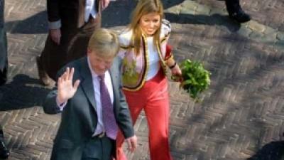 Foto van prins Willem-Alexander en Maxima | Archief FBF.nl