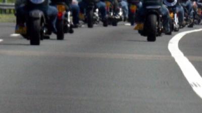 Foto van motorrijders | Archief FBF.nl