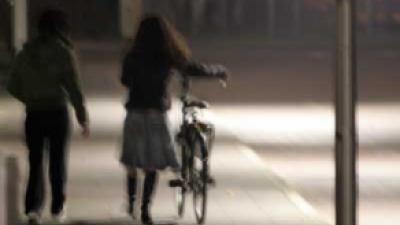 Foto van meisje met fiets | Archief FBF.nl