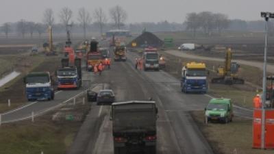 foto van Wegwerkzaamheden | Archief Stichting VIP | www.parkstadveendam.nl