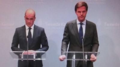 Foto van Rutte en Samsom | Archief FBF.nl