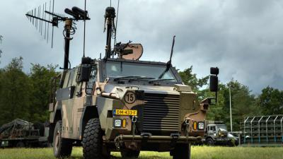Bushmaster-pantservoertuig