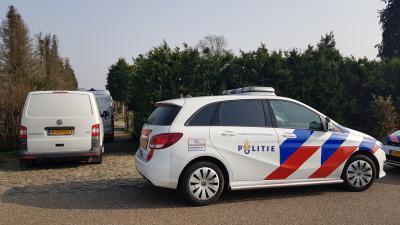 Politie onderzoekt drugslab