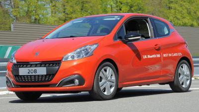Zuinigheidsrecord Peugeot 208 Blue HDi