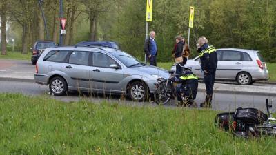 Fietser aangereden door automobilist