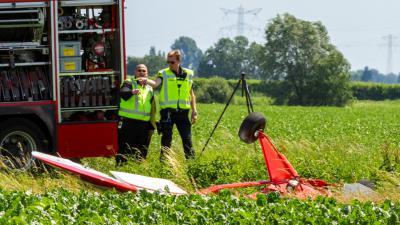 Foto van crash Willemstad