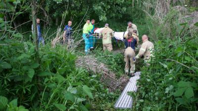 Foto van hulpverleners