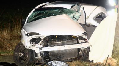 Automobilist (19) overleden na botsing tegen boom | Henk Brunink