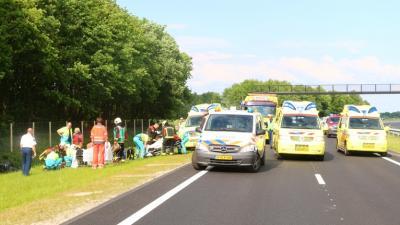 Foto van aanrijding N33   Van Oost Media   www.vanoostmedia.nl