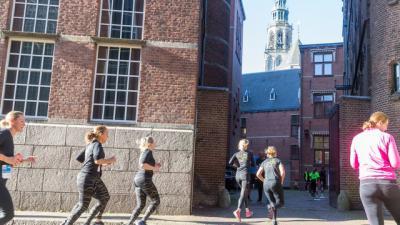 Urban Trail brengt deelnemers door en langs verschillende locaties