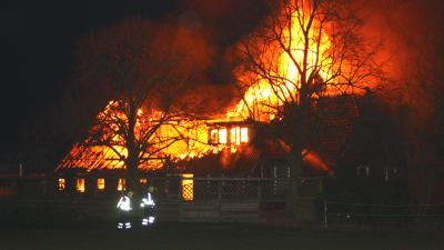 Foto van boerderij brand | Henk Brunink