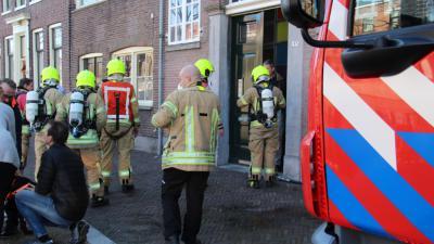 Brand in meterkast van woning