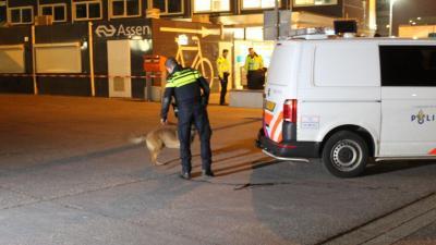 Drie aanhoudingen na mogelijk schietincident Stationsplein Assen