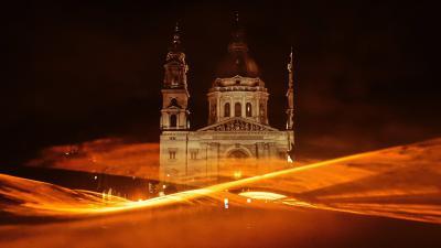 Oranje lichtshow