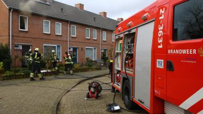 Vuurwerk veroorzaakt woningbrand