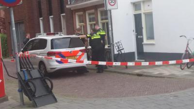 Foto van politie in Barestraat