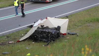Ravage op N34 na ongeval