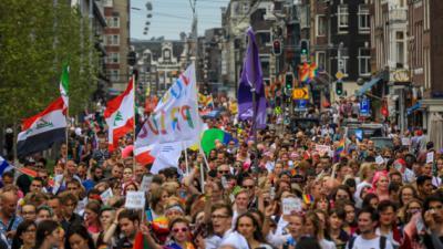 Foto van Pride Walk