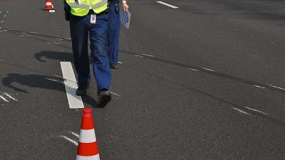 Grote verkeershinder na politie-achtervolging A16
