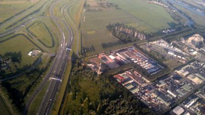 Nieuw stuk weg A9 bij Badhoevedorp eerder open