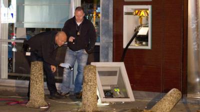 foto van ramkraak geldautomaat | Flashphoto | www.flashphoto.nl