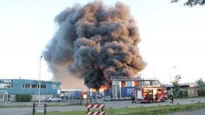 Foto van brand Oosterhout | Mathijs Bertens