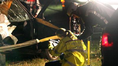Man (43) overleden na frontale botsing met vrachtwagen