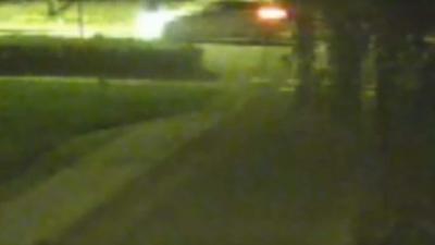 Beelden bewakingscamera aanrijding voetganger Groningen vrijgegeven