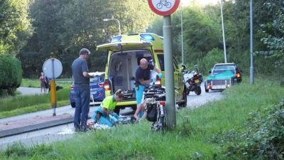 Fietser gewond bij aanrijding in Assen