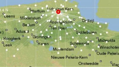 Noorden van Groningen getroffen door zware aardbeving van 2.8