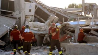 Derde aardbeving treft midden Italie