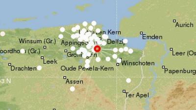 Groningen getroffen door zwaarste aardbeving dit jaar van 3.1
