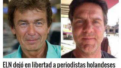 Presentator Bolt en cameraman Follender vrijgelaten