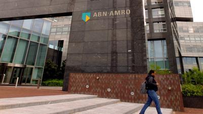 Foto van ABN AMRO kantoor Amsterdam | Archief EHF