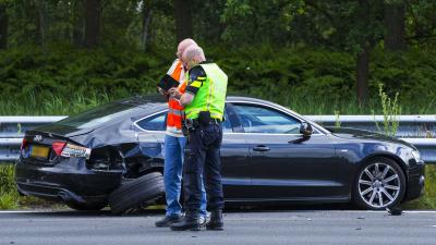 File A2 na ongeval meerdere auto's Liempde